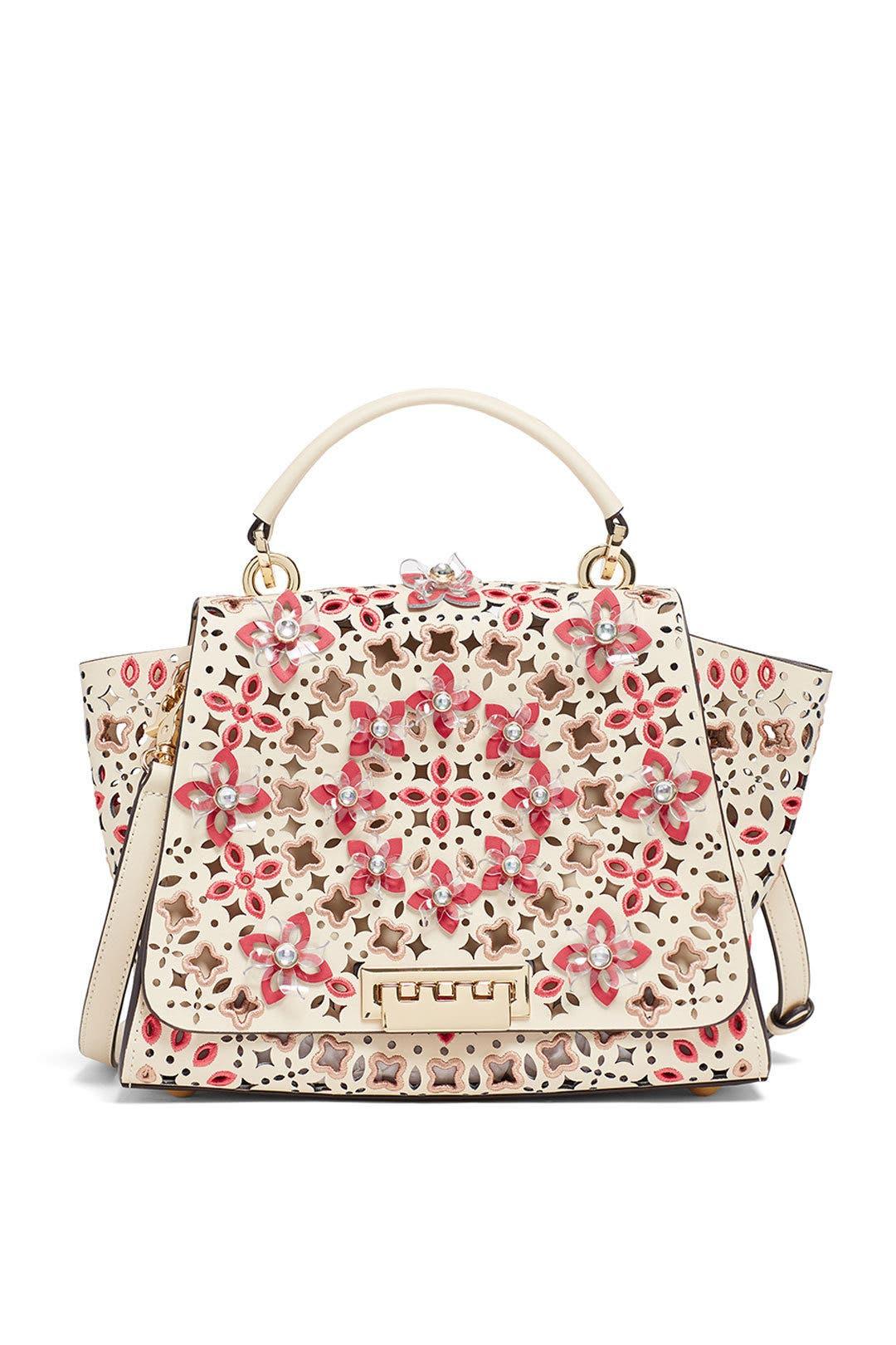Ivory Eartha Soft Top Handle Bag By Zac Zac Posen Handbags