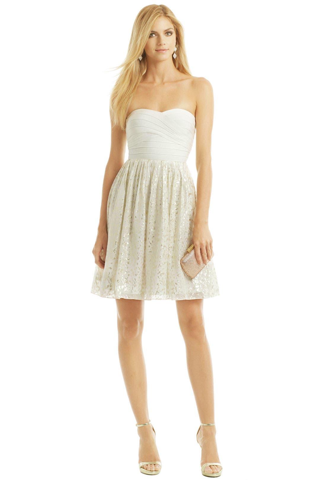 Anabel Lurex Dress by ERIN erin fetherston