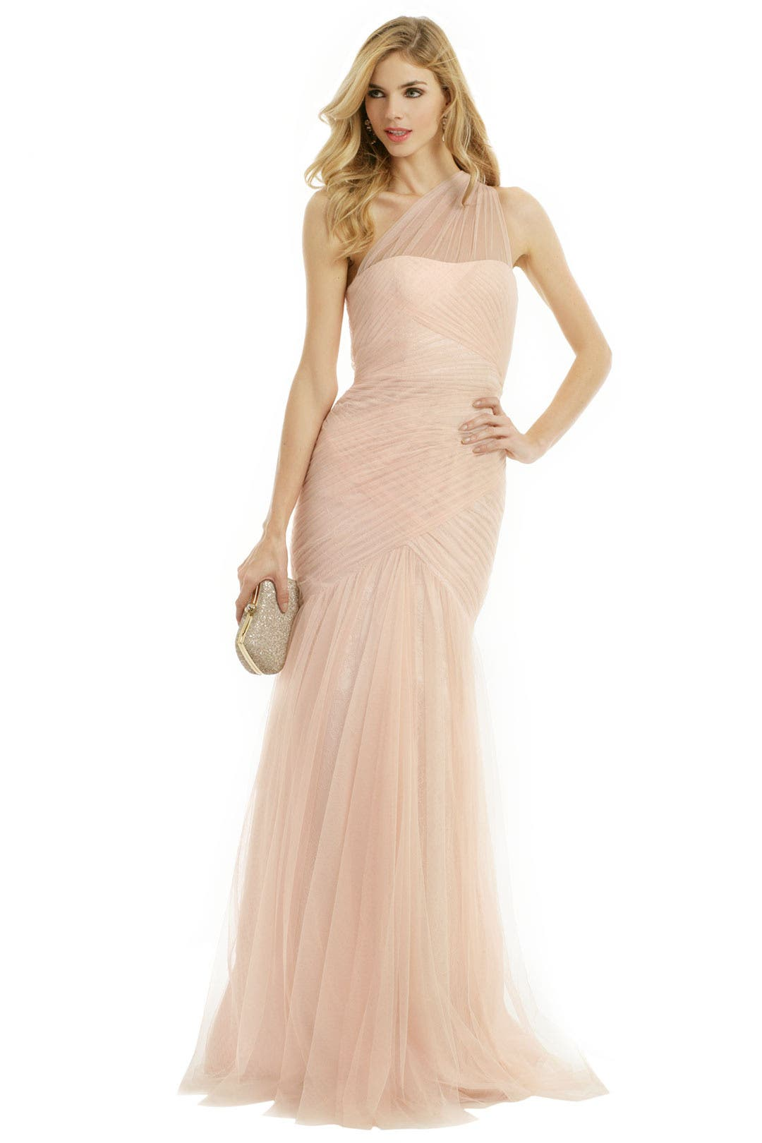 Fallen Rose Petal Gown By Ml Monique Lhuillier For 87