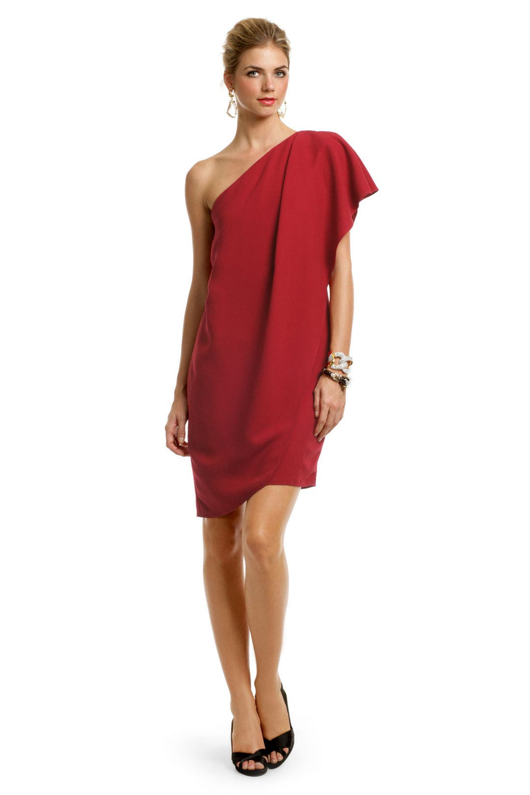Crimson Catwalk Dress by Mark & James by Badgley Mischka