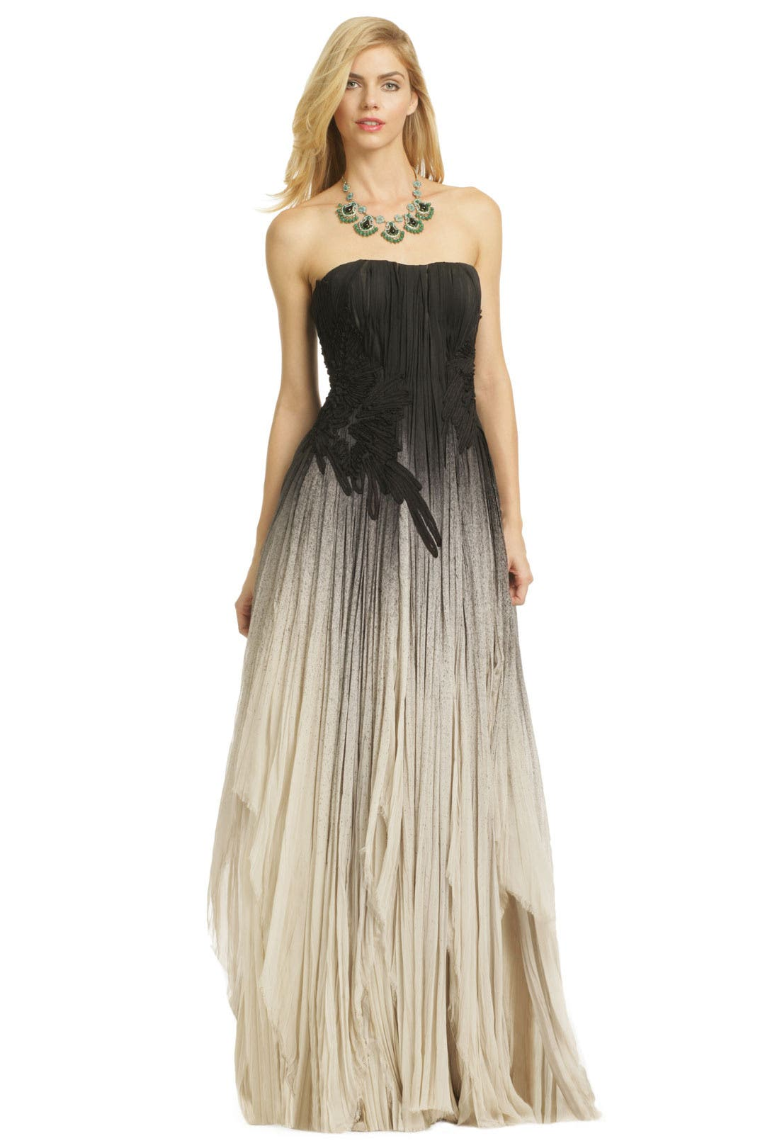 Laws Of Gravity Gown by Bibhu Mohapatra