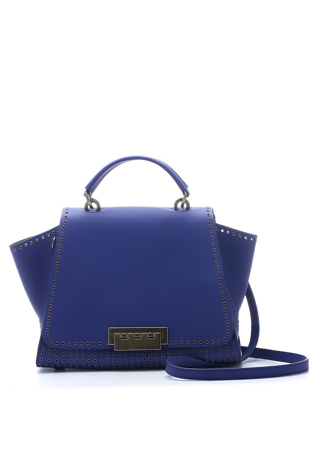 Cobalt Grommet Eartha Iconic Handbag by ZAC Zac Posen Handbags