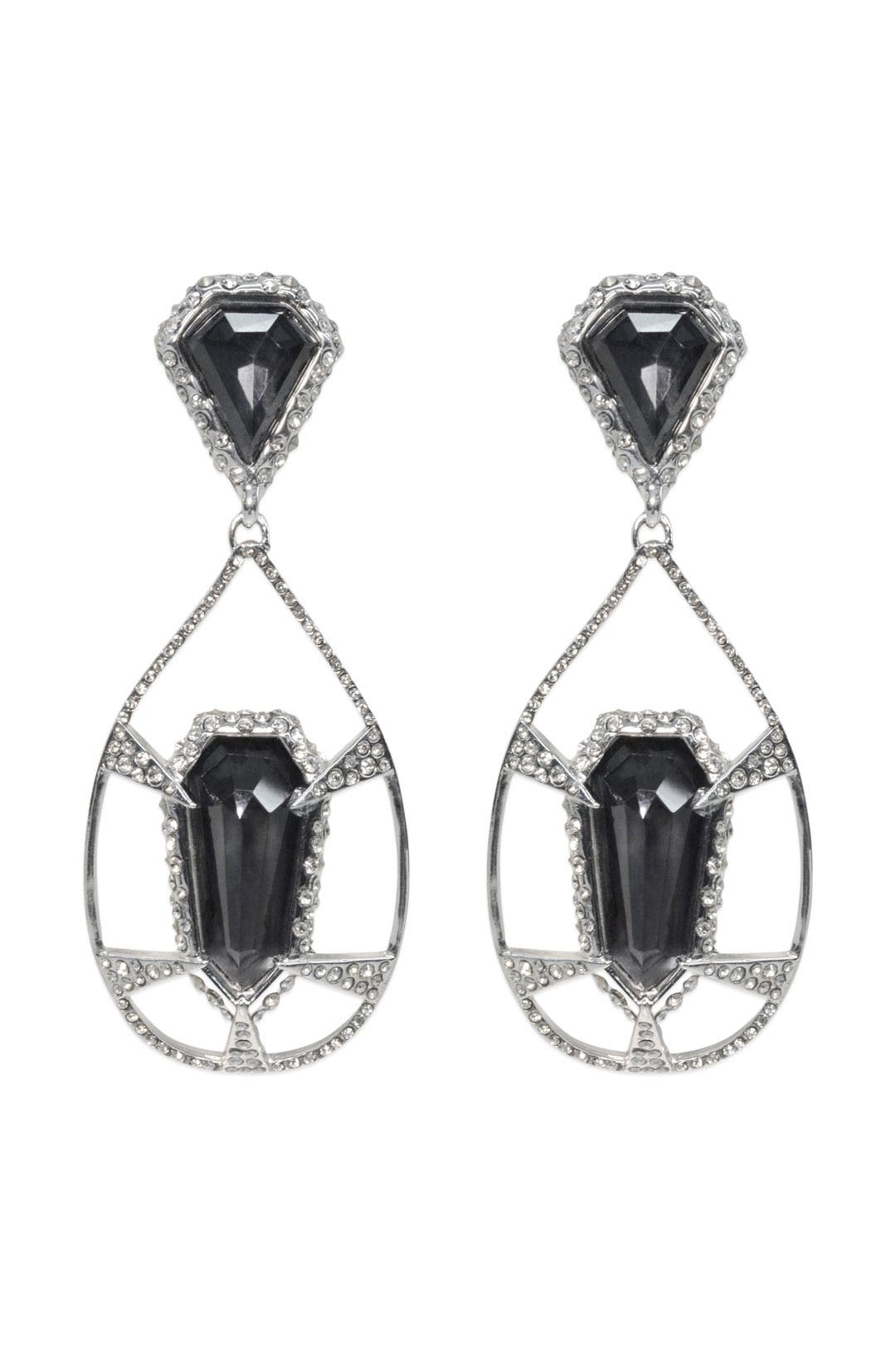 Deco Web Dangle Earring by Alexis Bittar
