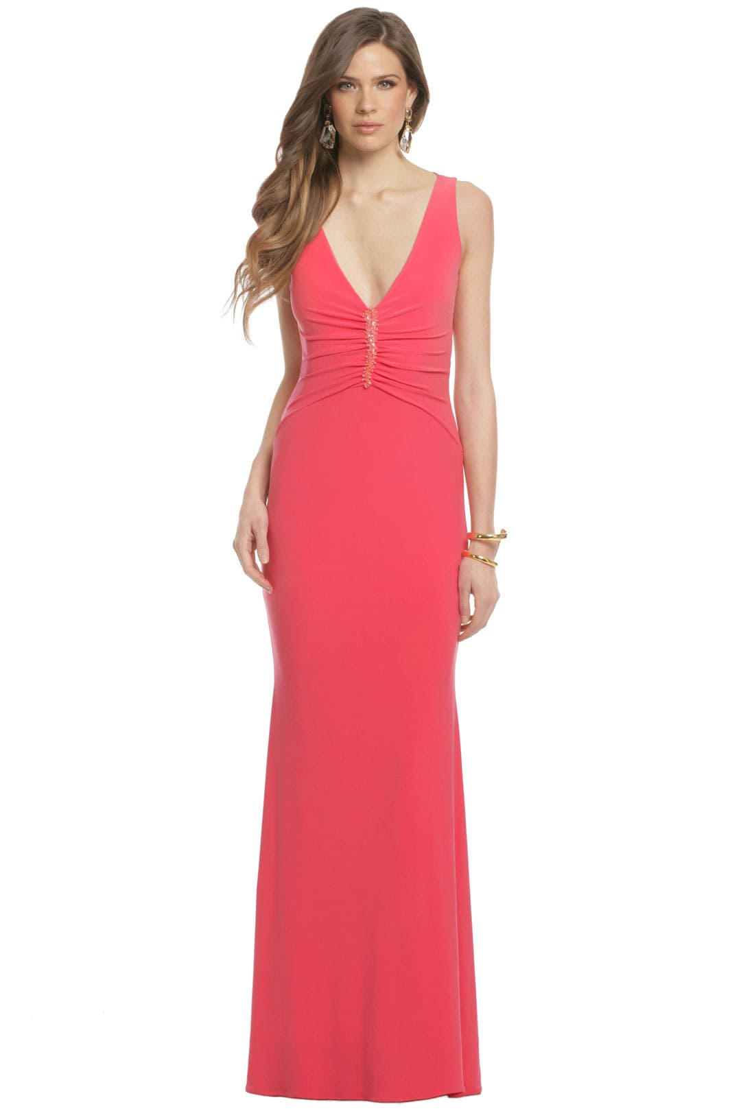 Isla Coralina Gown by Mark & James by Badgley Mischka