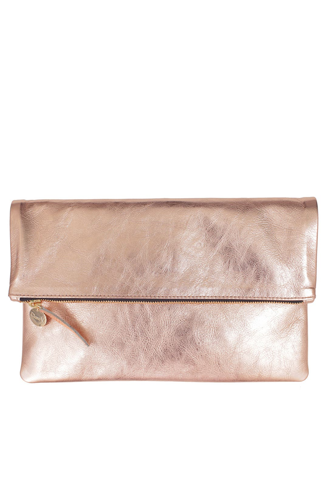 Rose Foldover Clutch By Clare V For 194 Rent The Runway