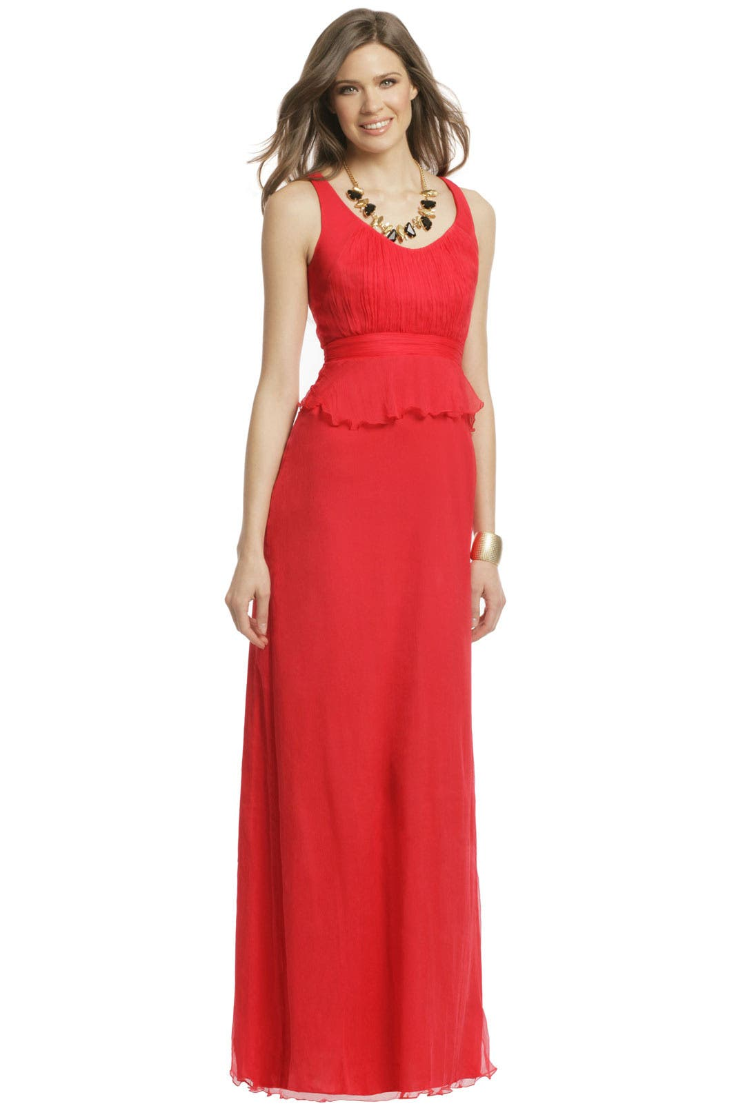 Red Pepper Hot gown by Carlos Miele