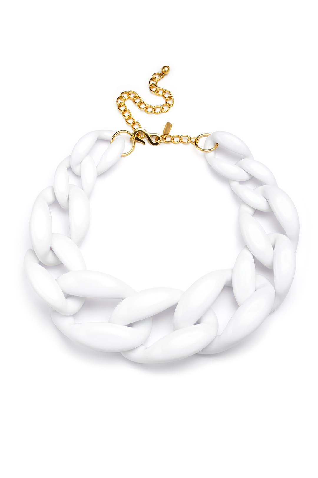 White Noise Necklace by Kenneth Jay Lane