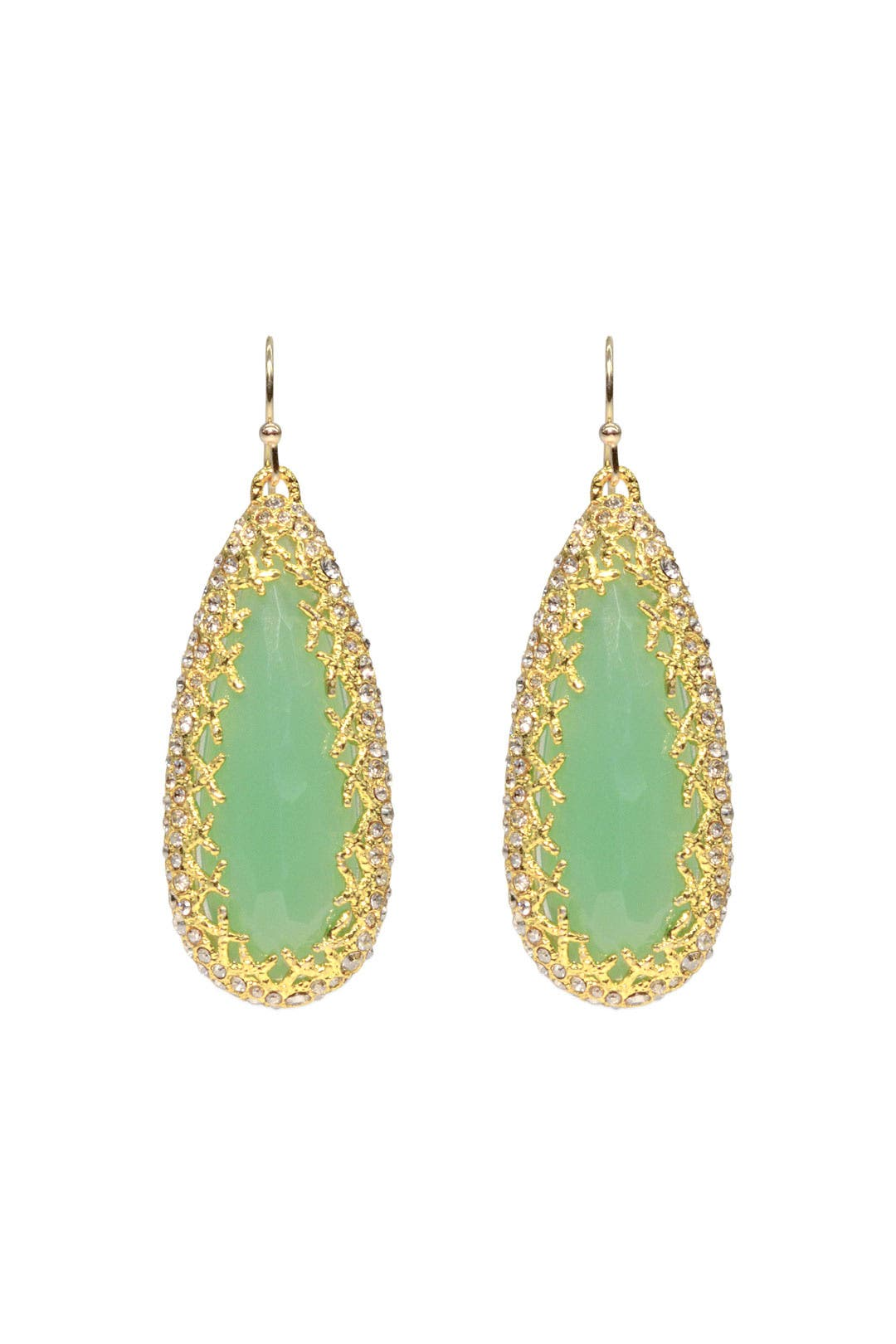 Seaglass Lattice Teardrops by Alexis Bittar