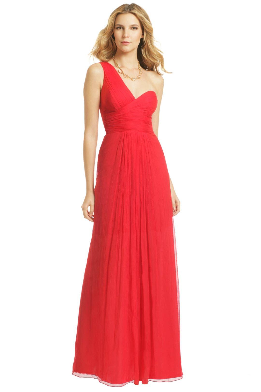 Vermelho Olinda Gown by Carlos Miele