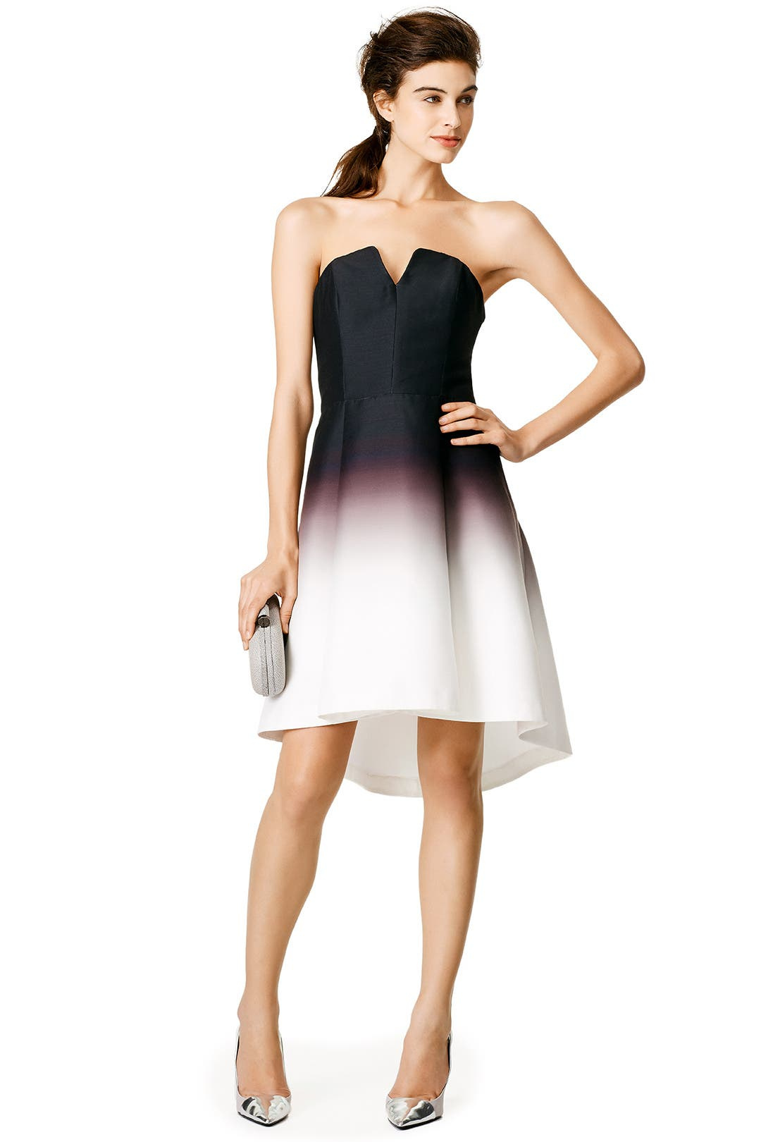 Great fade dress by halston heritage for 70 rent the runway ombrellifo Image collections