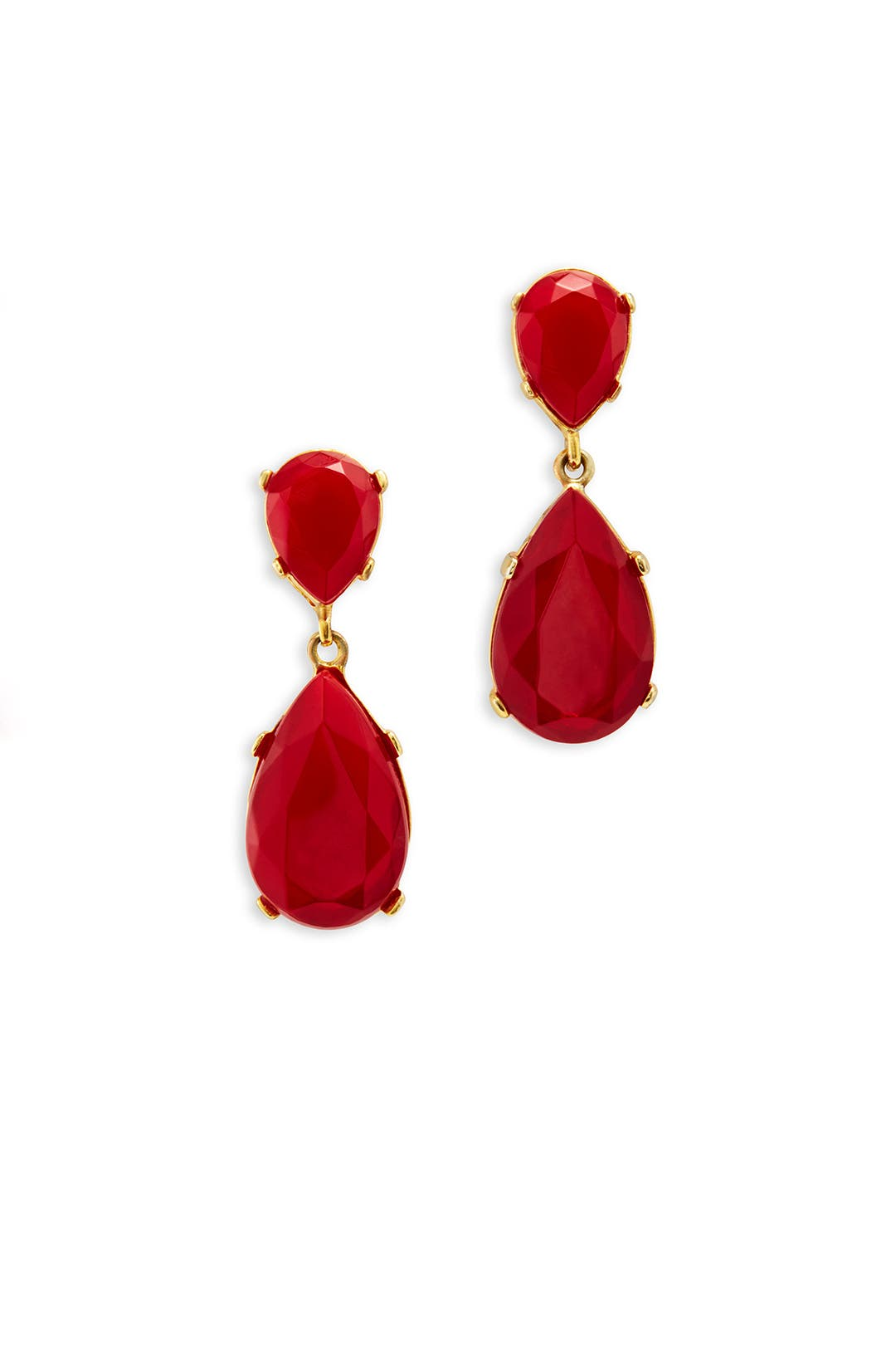 Ruby Red Drops by Kenneth Jay Lane