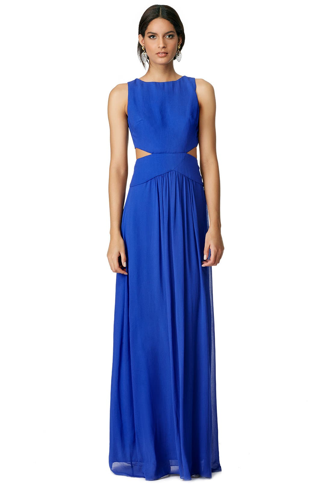Bound in Blue Gown by Nicole Miller for $138  Rent the Runway