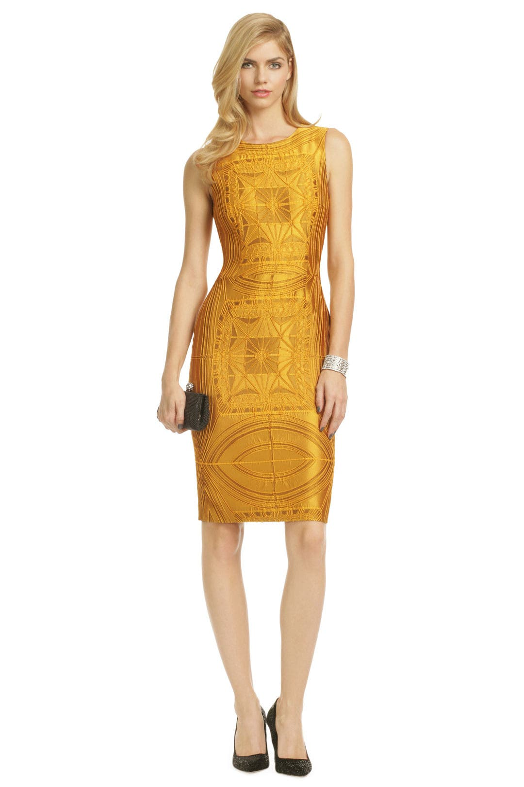 Vera Wang Sun Goddess Sheath
