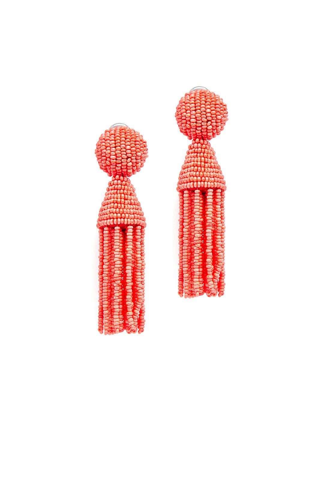 Granita Tassel Earrings by Oscar de la Renta