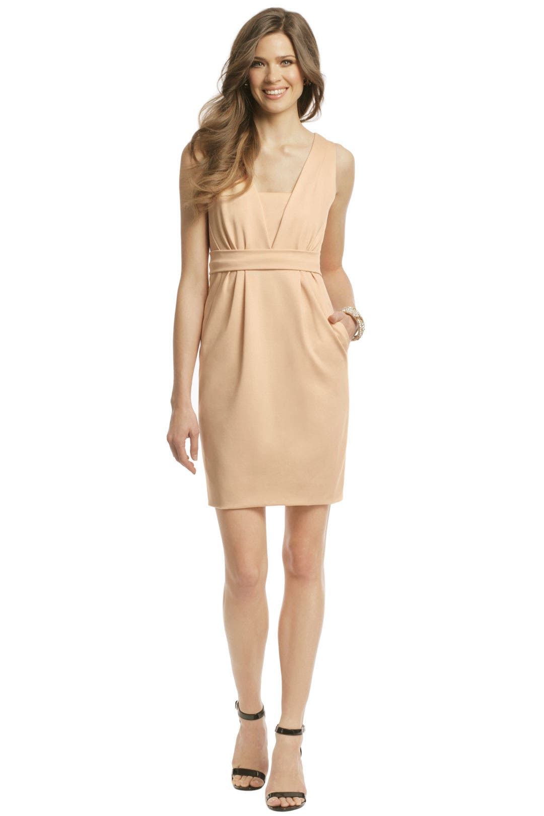White Peach Dress by Moschino