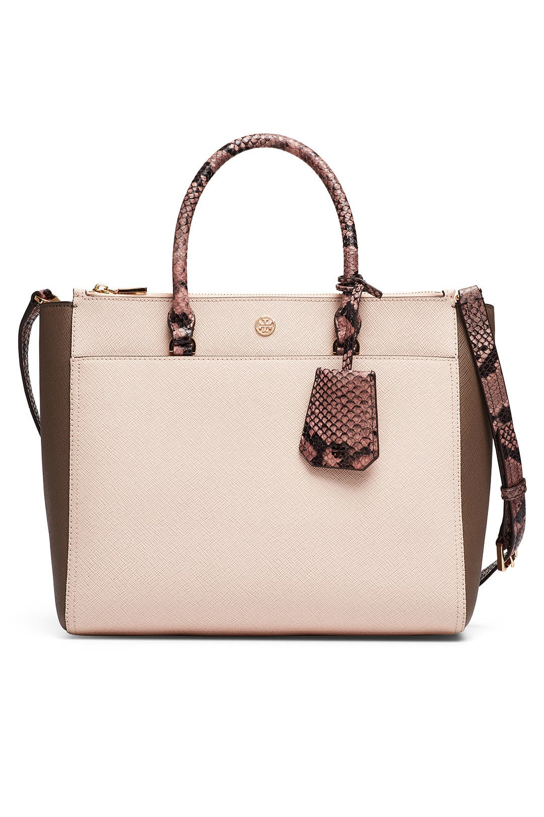 bbd71340dd Tory Burch Accessories. Read Reviews. Apricot Robinson Double Zip Tote