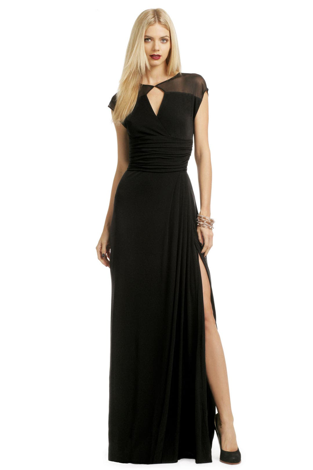 Meshing Around Gown by Badgley Mischka