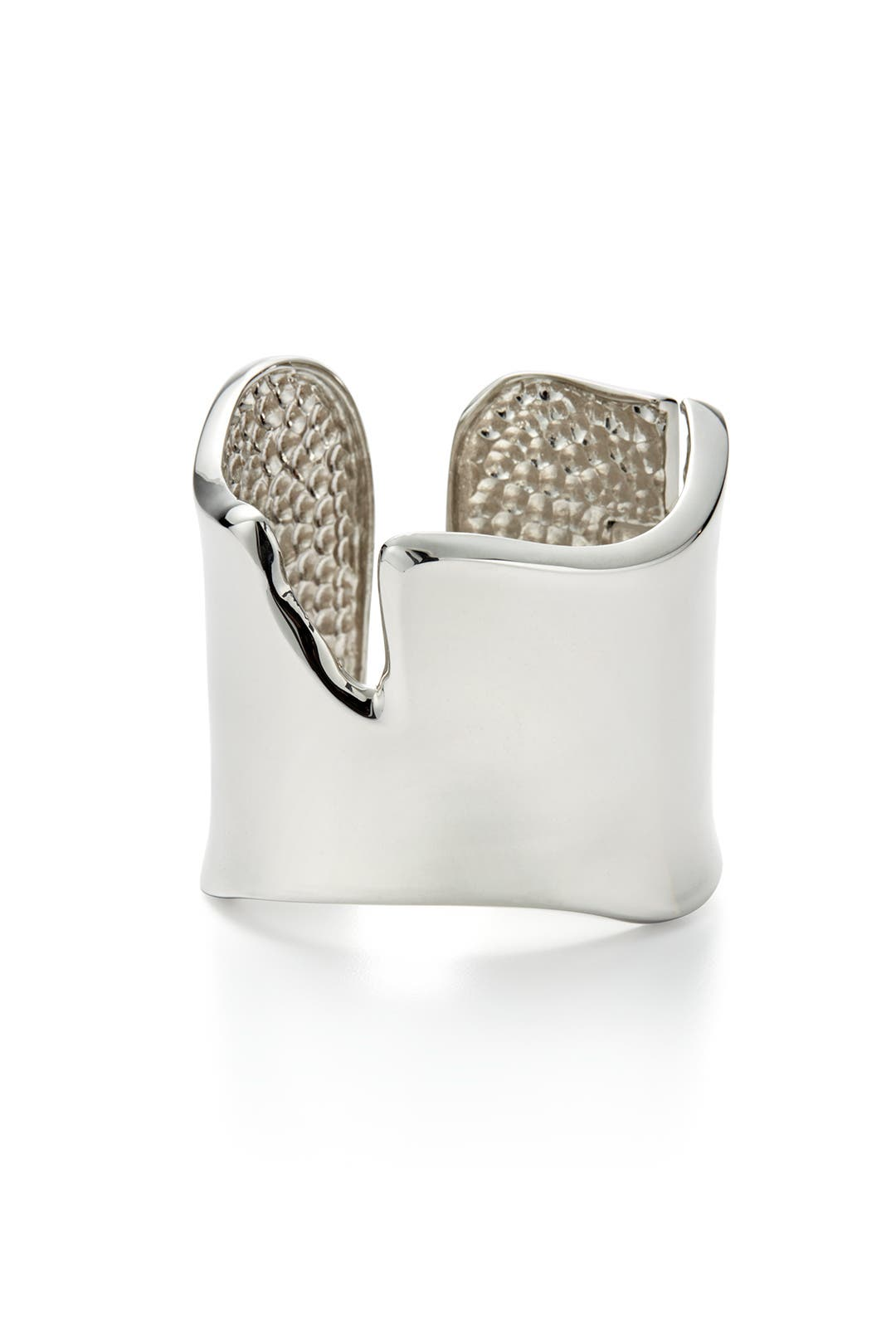 Silver Remi Cuff by Kenneth Jay Lane