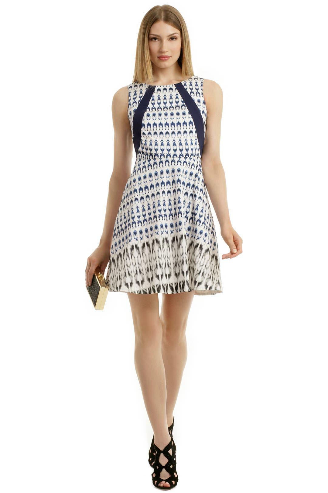 Indigo Spectrum Dress by Rachel Roy