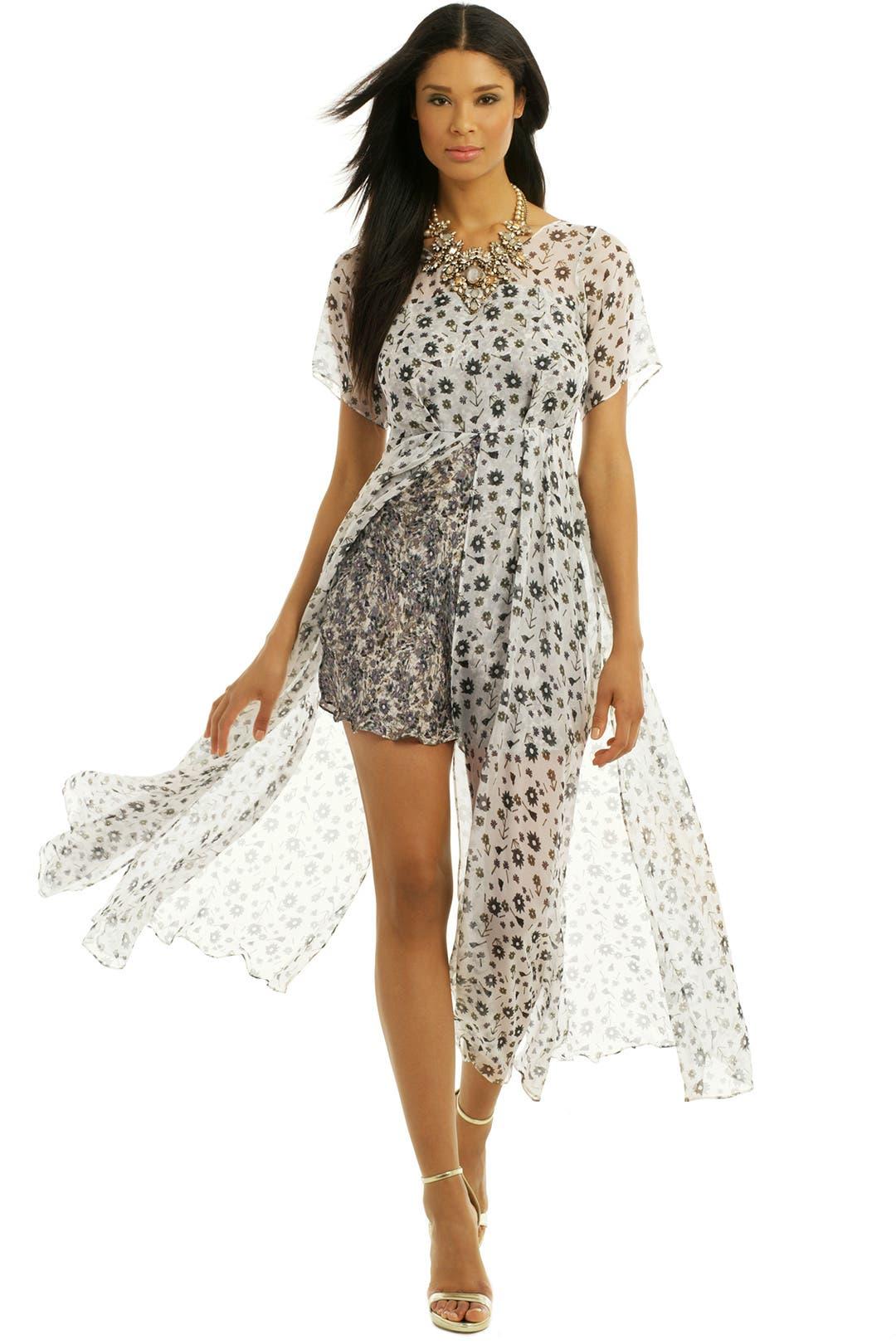 Dystal Itopaz Dress by theory