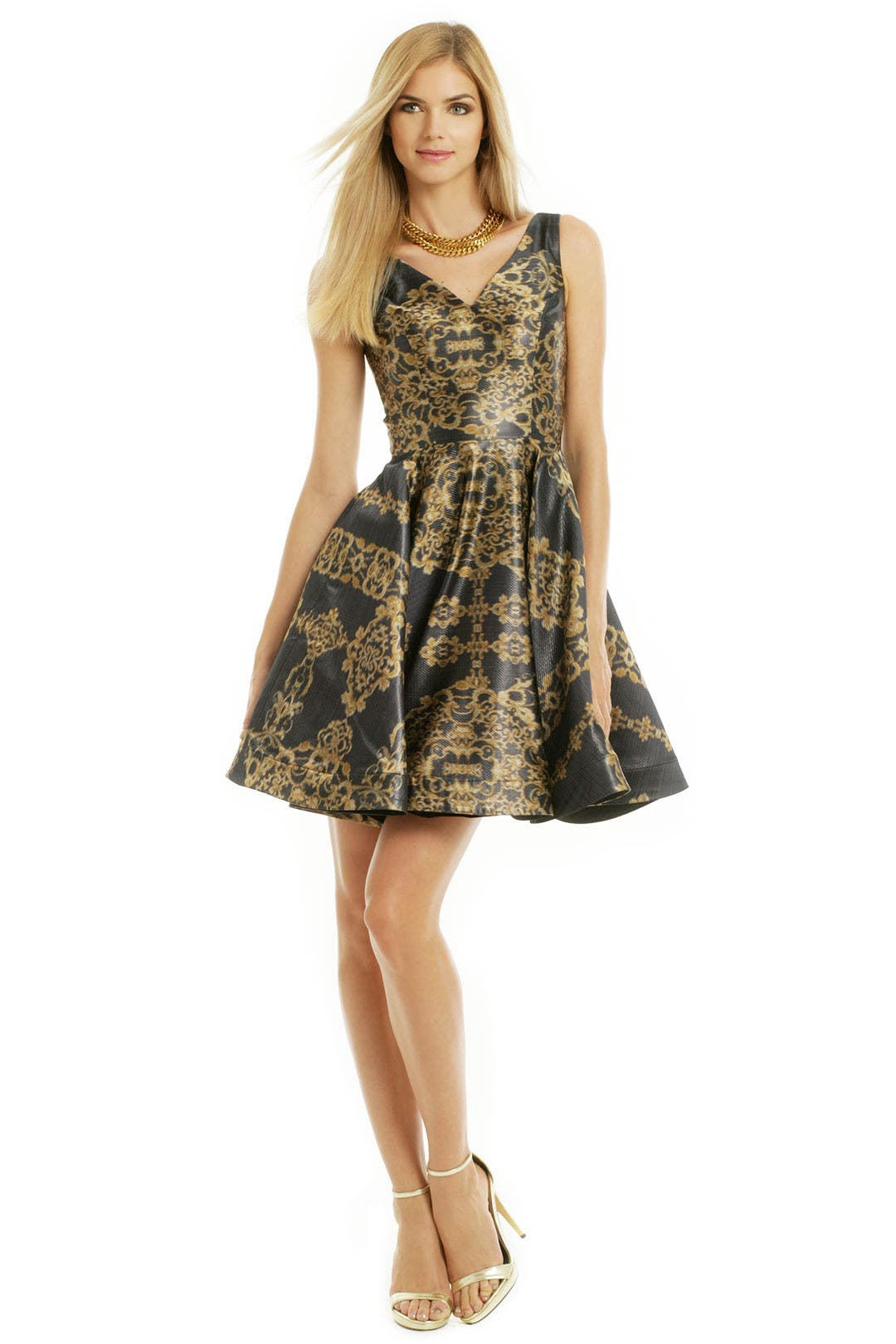 Go Ornate Dress by Christian Siriano