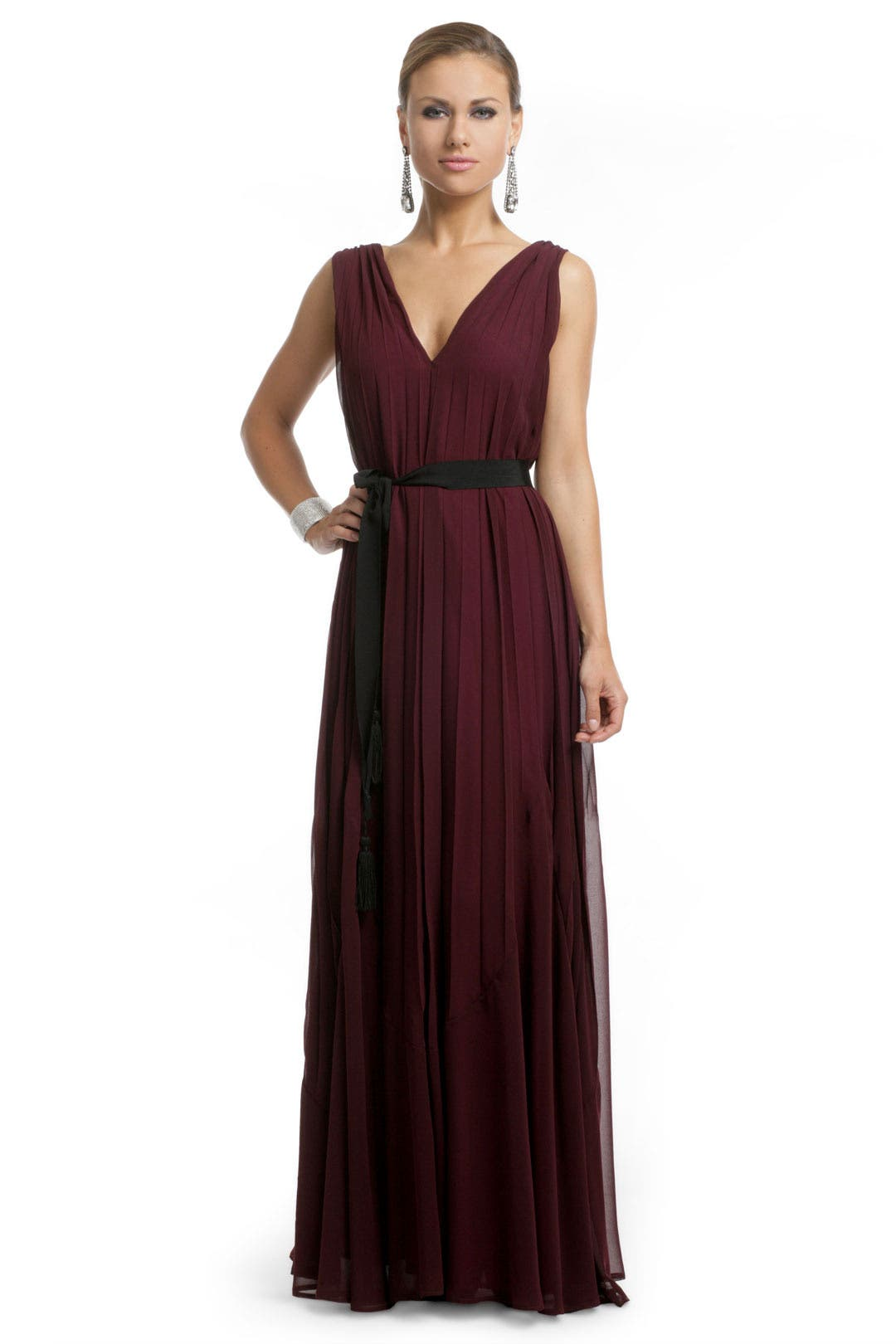 Burgundy Bliss Gown by Twelfth Street by Cynthia Vincent
