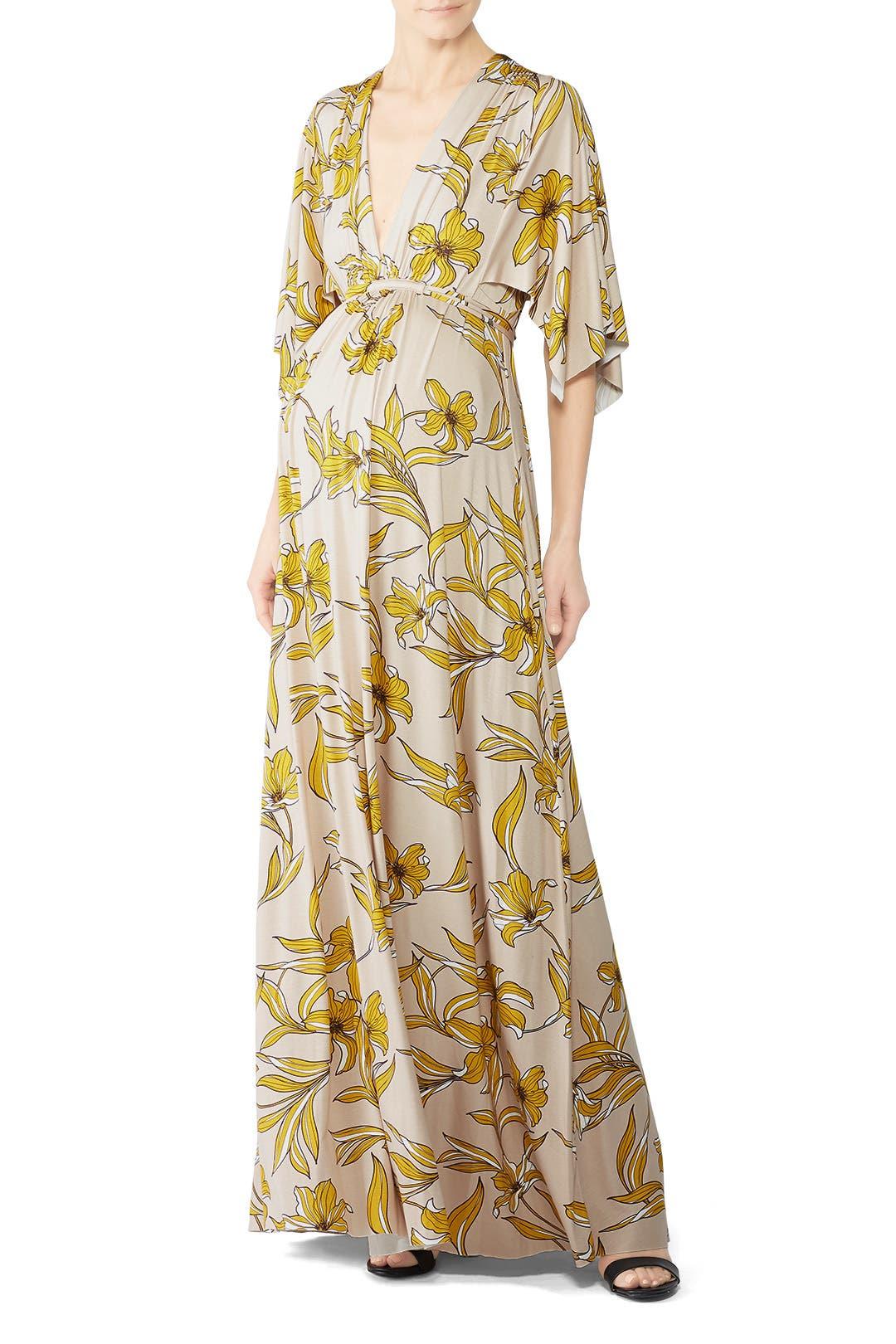 ff9bc89ebac7 Rachel Pally. Read Reviews. Floral Caftan Maternity Dress
