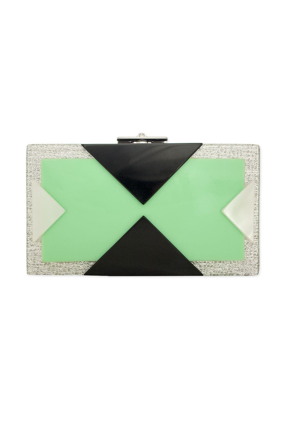 Alicia Mint Box Clutch by Rafé