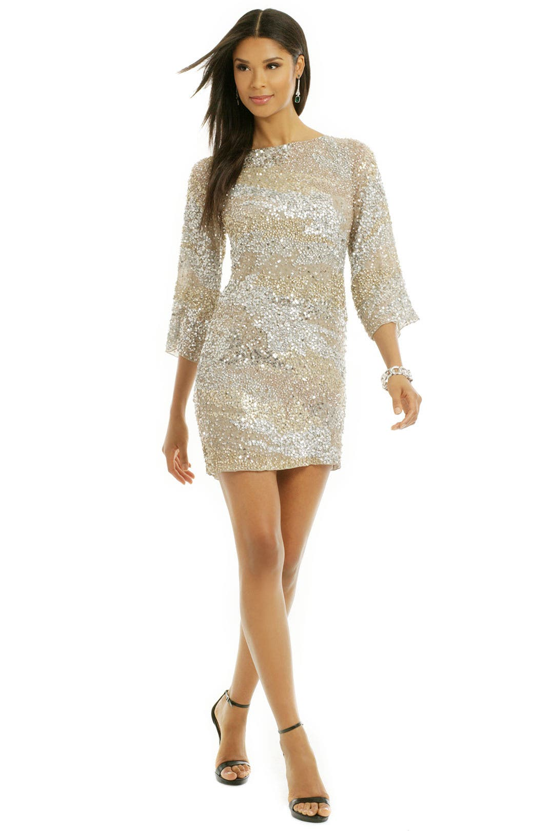 Sprinkle the Sequins Shift by Vie la V