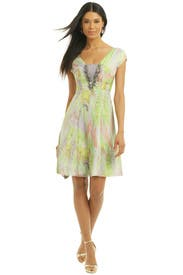 Tie Die For Dress by Matthew Williamson