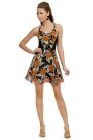 Hibiscus Flippy Dress by Proenza Schouler