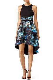 Blue Into the Galaxy Dress by nha khanh