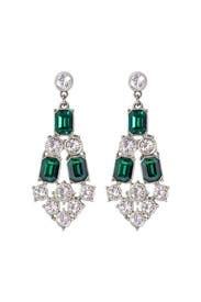 Emerald City Statement Earrings by Ben-Amun