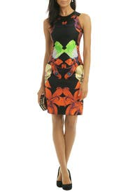 Flower Brocade Dress by Josh Goot