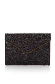 Black Leo Clutch by Rebecca Minkoff Handbags
