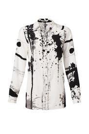 Dazzler Paint Splatter Shirt by Yoana Baraschi