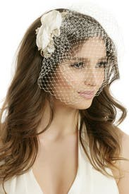 Delicate and Demure Veil by RTR Bridal Accessories