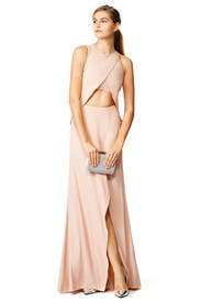 Blush Flutter Gown by Philosophy di Lorenzo Serafini