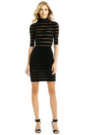 Behind Sheer Lines Dress by Blumarine