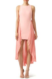 Parfait Pleats Dress by Halston Heritage