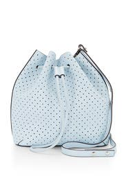 Ice Blue Bucket Bag by Rebecca Minkoff Accessories