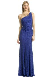 Blue Nile Falls Gown by David Meister
