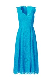 Cindy Midi Dress by Shoshanna