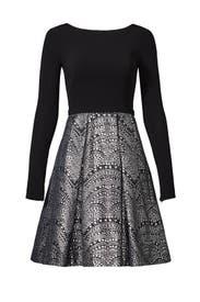 Nailhead Dress by Theia