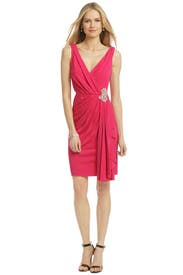 Magenta Royal Standard Dress by Badgley Mischka