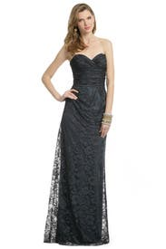 Fall Floral Mist Gown by David Meister