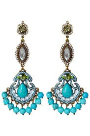 Entrancing Blue Earrings by Badgley Mischka Jewelry