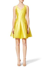 Limoncello Dress by Carmen Marc Valvo