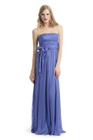 Silk Stripe Gown by BCBGMAXAZRIA