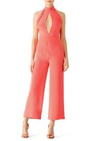 Pink Lauren Jumpsuit by Cushnie Et Ochs